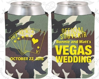 Camouflage Wedding, Can Coolers, Camouflage Wedding Favors, Camouflage Wedding Gift, Camouflage Party Favors (65)
