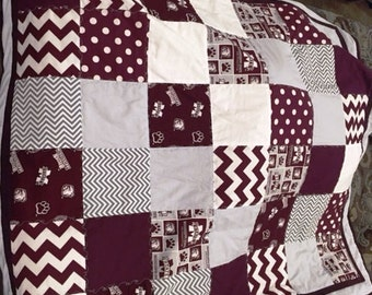 Game Day Quilts - Baby, Toddler, or Twin size Quilt