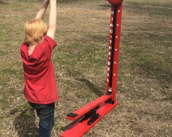 Kid Sized High Striker Strong Man Carnival Game