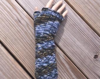 fingerless gloves - medium length_hiroshige