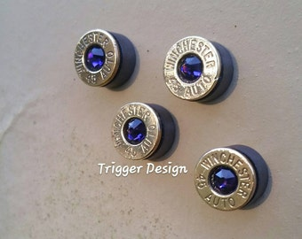 45ACP Recycled Magnets set of four