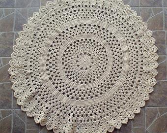 how to make a dolie crocket rug