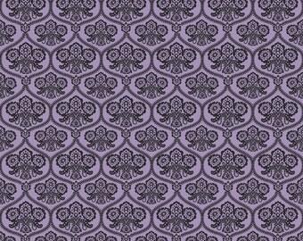 Riley Blake Designs - Haunting Damask Purple - C4671-PURPLE