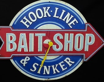 Bait Shop Clock