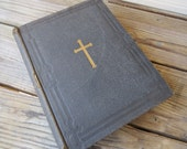 Antique Book Manual of the Holy Catholic Church- 1906 (110 year old book) Beautiful book The Light From the Altar - The True Catholic
