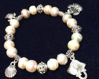 Hawaiian charm bracelet