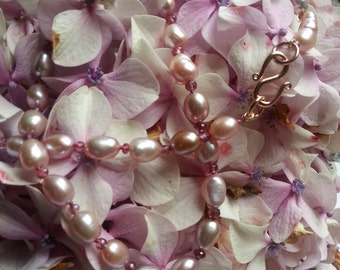 Perfectly Pink: Cultured Freshwater Pearls & Pink Spinel Necklace