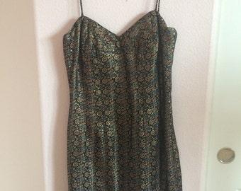 1950s wiggle dress size S M