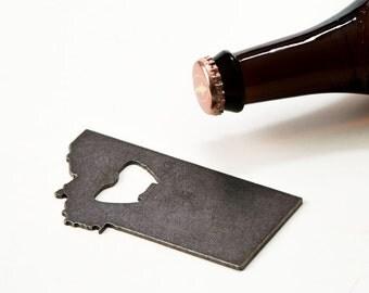 July 4th Montana Steel Bottle Opener - Travel Souvenir, Groomsmen Gift, Wedding Favor, Christmas Gift