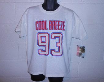 Vintage 90s 1993 Cool Breeze T-Shirt L NWT