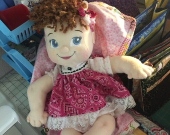 Baby Girl cloth doll