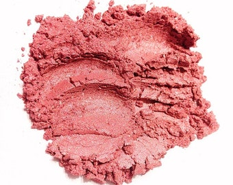 STRAWBERRY CREAM Mineral Eye Shadow - Natural Mineral Makeup - Gluten Free Vegan Face Color