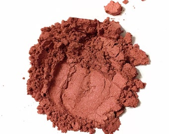 ROSE GARNET Pure Skin Minerals Blush Cheek Face Color Vegan Makeup
