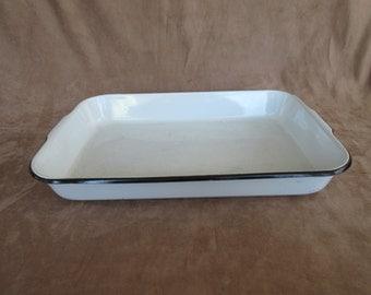 Enamel Baking Pan Etsy