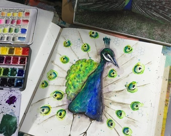 Watercolor Wednesday Live Class Peacock.pdf