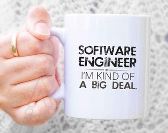 Gifts for software engineers, engineer mug, engineer graduation, gift ideas for engineering students, funny engineering gift christmas MU348