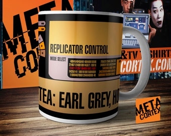 Star Trek: The Next Generation - Captain Picard Tea Earl Grey Hot Mug