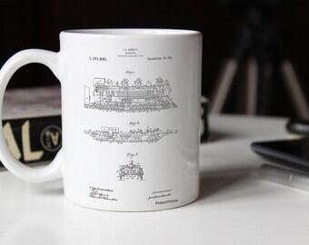 Mini Stapler Patent Mug, Office Mug, Gifts For Secretary, Office Mug, Office
