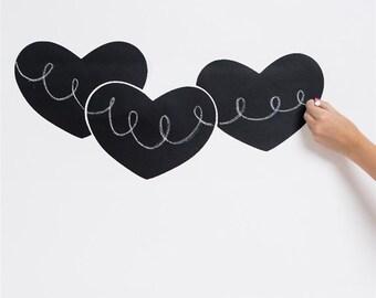 Chalkboard Heart Wall Decal
