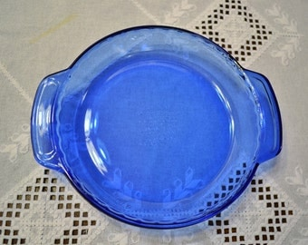 Glass Pie Plate Etsy