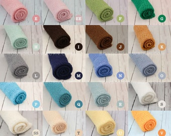 Newborn Stretch Wraps In STOCK and Ready to Ship Super Stretch Knit Soft Swaddle Photography Prop By Bonbons Newborn Baby BUY 5 GET 1 Free