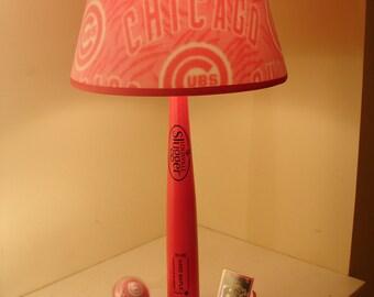 Cubs Bat Lamp