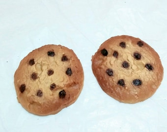 1983 Cookie magnets chocolate chip cookie refridgerator magnets