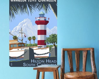 Hilton Head South Carolina Wall Decal - #60876
