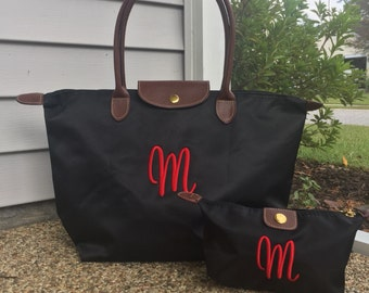 Monogram Tote Bag -  Personalized - Tote Bag - Many Colors