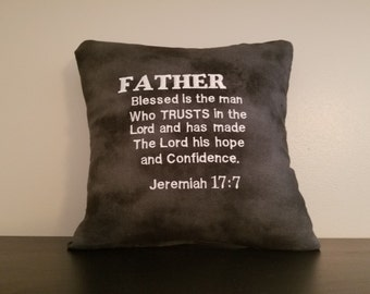 Father's Day Pillow
