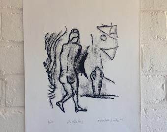 Mono Print - Aesthetics - limited edition 1/10