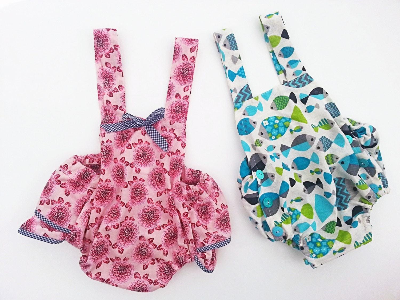 Sewing Pattern Boys Amp Girls Romper Pattern Baby Romper