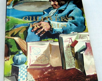 Gulliver's Travels by Jonathan Swift -Printed in 1994, Hardcover Illustrated Junior Library by Grosset & Dunlap 1947 Edition