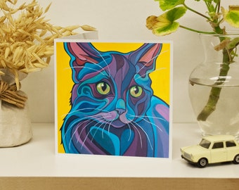 Cat Pack - 4 Art Cards