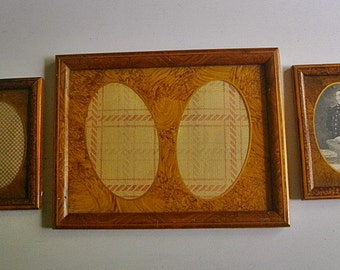 3 French Art Deco photo frames circa 1920-1930- Excellent condition