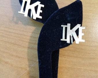 Vintage IKE Earrings  #M22