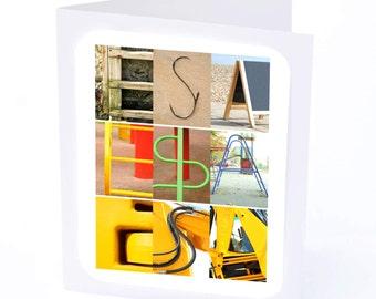 Esa Personalised Birthday Card