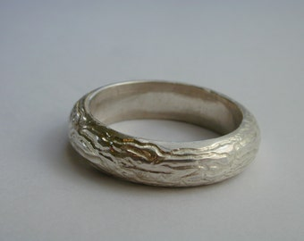 water Sterling Silver ring