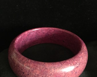 Purple bangle bracelet from the 1970s