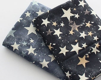 "Cotton Fabric Vintage star Fabric by the Yard 44"" Wide cozy vintage star"