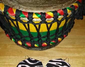 Afrikahn Print Earrings