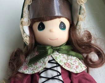 "Precious Moments 9"" Children of the World ""Freya"" of Denmark Doll -NEW"
