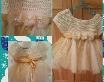 Crochet tutu dresses