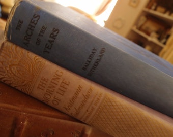 Set of Two Vintage Books