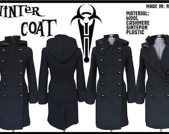 Winter wool Сoat