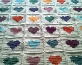 Rose's Heart Blanket