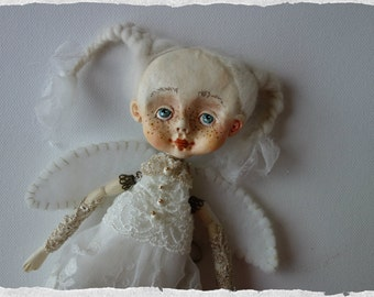 OOAK ART Doll Angel