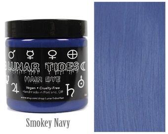 Blue Grey Navy Denim Hair Dye