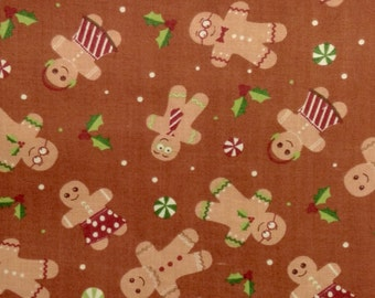 One Half Yard of Fabric - Gingerbread Man