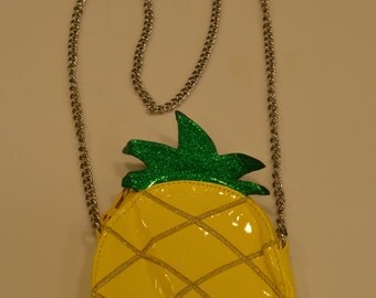 Vintage pineapple small purse for fun